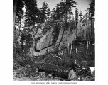 Elephant Rock near Lake Sutherland in Clallam County