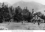 Lake Crescent Tavern resort, Clallam County, 1918