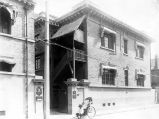 Chandless' office on Taku road, Beijing?, 1900