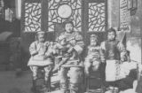 Chinese family in provincial town, ca. 1905