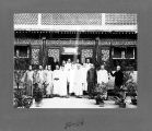 Staff of Chandless and Company, comprador's office, Tianjin, China, ca. 1905