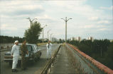 Pripyat view from overpass