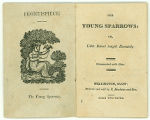 The Young Sparrows: or, Little Robert taught humility (frontispiece and title page)
