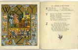 Alphabet of old friends (p. 6 and plate 6)