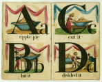 Royal alphabet; or, History of an apple pie (pp. 2-3)