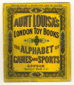 Aunt Louisa's London toy books: The alphabet of games and sports (cover)