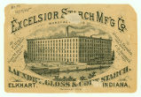 Excelsior Starch Manufacturing Company trade card (back)