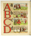Aunt Louisa's London toy books: The alphabet of games and sports (A-D)