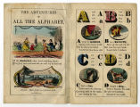 The adventures of the alphabet (title page and p. [1])