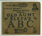 Old Aunt Elspa's ABC: We'll soon learn to read, then - how clever we'll be  (cover)