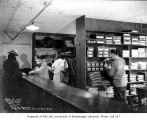 Clothing outlet interior, 421 Fairview Ave. N., Seattle, January 9, 1934