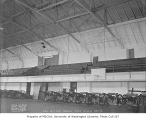 National Guard Armory drill hall interior, Seattle, March 27, 1934