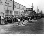 Roadwork and construction at Railroad Ave. south of Washington St., Seattle, February 1, 1934