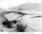 Pavement slide on State Highway 1, King County, December 31, 1933