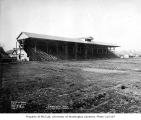 Athletic field and grandstand construction, Enumclaw, February 13, 1934