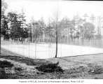 Magnolia Playfield tennis courts, Seattle, March 12, 1934