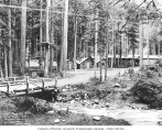 Civilian Conservation Corps facilities at Camp Carbon River, Fairfax, 1935