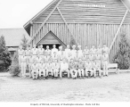 Members of Company 783, Civilian Conservation Crops, at Camp Elma, ca. 1937
