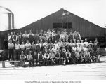 Crew at Schafer Brothers Logging Company sawmill, Dryad, n.d.