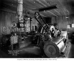 Machinery made by Sumner Iron Works of Everett, Schafer Brothers Logging Company shingle mill,...