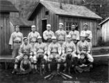 Big Creek baseball team, Big Creek Logging Company, Knappa, ca. 1918