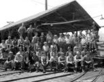Mill crew, Fruits Growers Supply Company, Hilt, ca. 1930