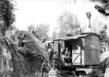 Marion crawler steam shovel, Saddle Mountain Logging Company, Clatsop County, ca. 1921