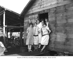 Mess hall crew, Independence Logging Company, ca. 1925