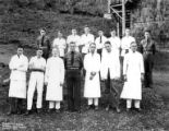 Cooks and camp leaders, Camp Nestucca, Company 5436, Civilian Conservation Corps, Blaine, ca....