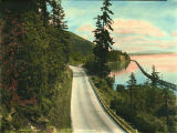 Chuckanut Drive vicinity of Bellingham Bay, Washington, 1926