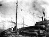 Loading logs with spartree, unidentified logging operation,  Washington, n.d.