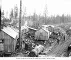 Anderson and Middleton Lumber Company camp at North River, Grays Harbor County, ca. 1918