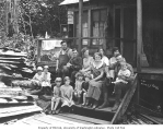 Family groups, Manley-Moore Lumber Company, ca. 1927