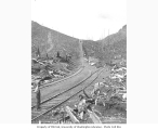 Incline railroad track in logged off area, Pacific National Lumber Company, n.d.