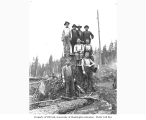 Logging crew at Pacific National Lumber Company's camp no. 17, n.d.
