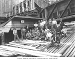 Asian lumber mill crew, Pacific National Lumber Company, National, n.d.