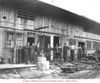 Blacksmith shop crew, Pacific National Lumber Company, National, n.d.