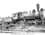 Mineral Lake Logging Company 2-8-2 locomotive no. 103, Mineral, ca. 1926
