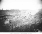 Vance Lumber Mill at Malone, ca. 1916