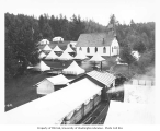 Spruce Division camp and church, ca. 1918
