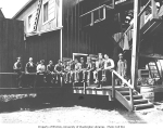 Crew at mill, Snoqualmie Falls Lumber Company, n.d.