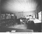 Camp office interior, Bordeaux Lumber Company, 1919