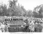 Bathing beauty contest at Schafer Brothers Logging Company annual picnic, Schafer State Park,...