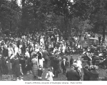 Dedication ceremony for Schafer State Park, Satsop, August 27, 1922