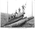 Choker setters at camp no. 2, Weyerhaeuser Timber Company, n.d.