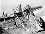 Scow fish wheel on the Columbia River near Skamania, Washington, June 25, 1924
