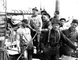 Crew of the power schooner UNION JACK, Alaska, May 1913