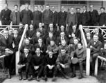 Fisheries Club group portrait, University of Washington, Seattle, 1921