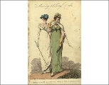 Morning walking dresses, 1808