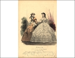 Day and evening wear, 1862